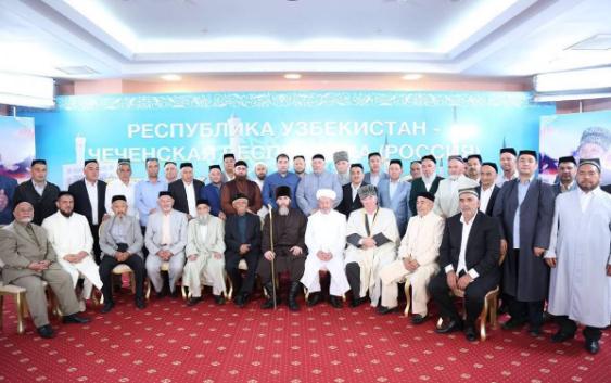В Узбекистане мероприятие, посвященное А-Х. Кадырова