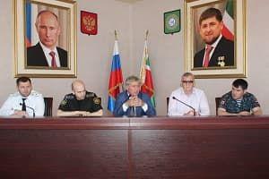 В администрации Грозненского района прошло расширенное совещание